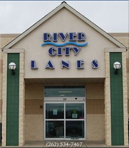 Rivercity lanes entrance